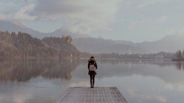persoon die rust wil vinden