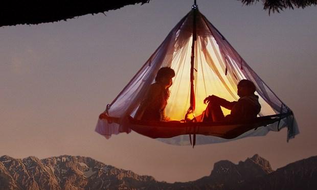 slapen, natuur