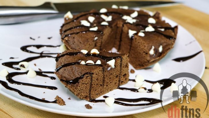 veel eiwit desserts microwave cake