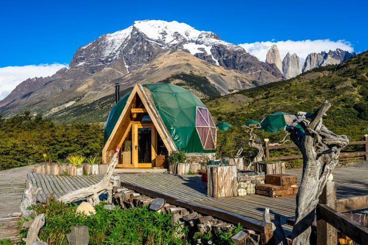 ecocamp, patagonia, chili