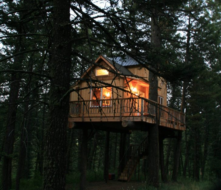 airbnb, campers, boomhutten, hammocks, natuur