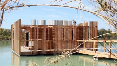 drijvend eco-hotel Frankrijk