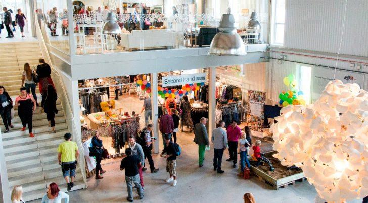 retuna, zweden, winkelcentrum
