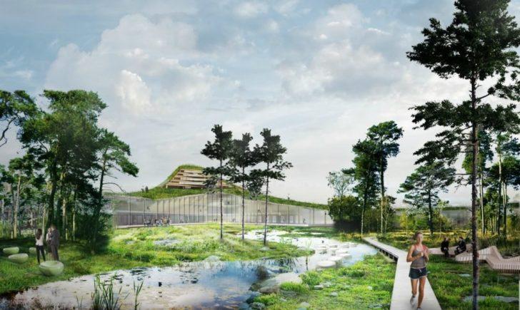 dutch mountains, houten gebouw, veldhoven, eindhoven