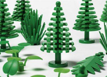 plantaardige lego, plastic