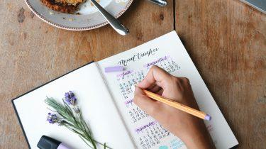 bullet journal inspiratie emotionele groei