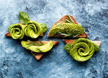 Foto van vegan broodbeleg