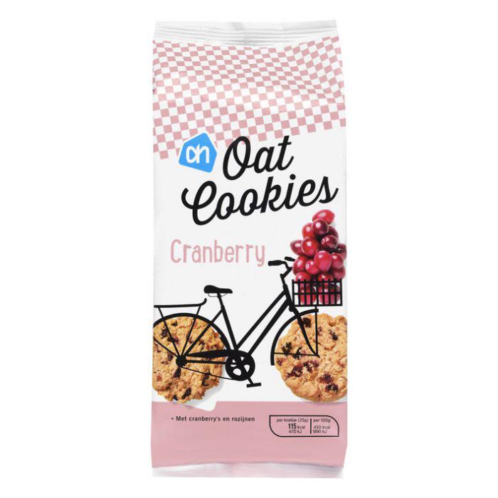 Veganistische oat cookies van Albert Heijn