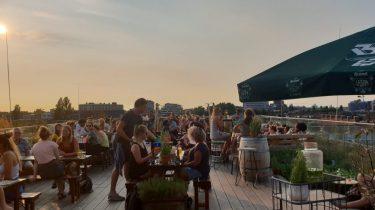 Dakterras Hopp in Amsterdam Oost