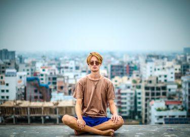 jongen meditatie