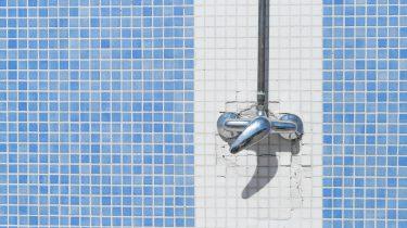 buiten douche