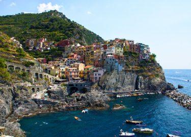 Itlaiaanse dorpje op een berg