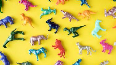 plastic speelgoed