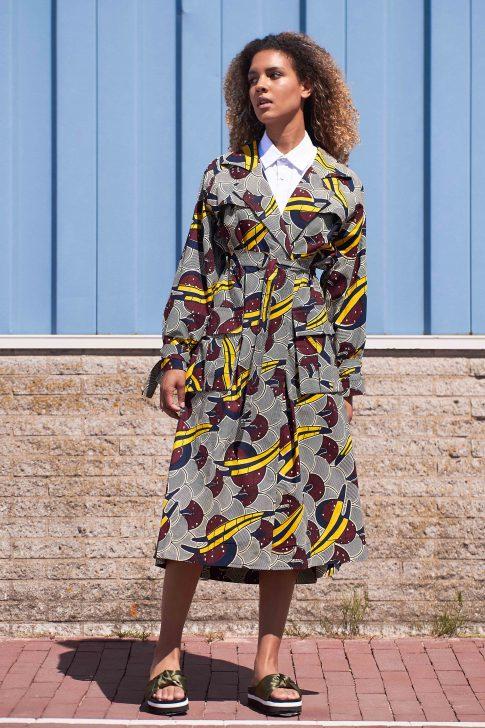Duurzame jurk van Afriek