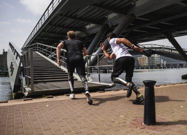 Sporten tijdens lunch
