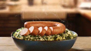 Vegetarische rookworst van Unox