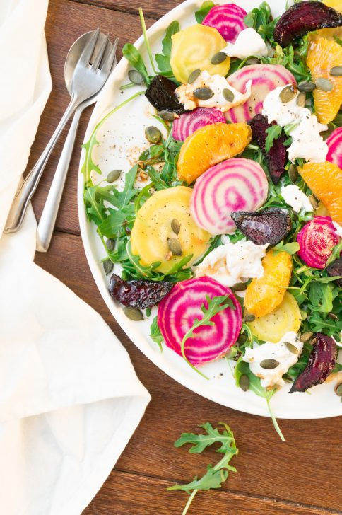 Salade met bietjes