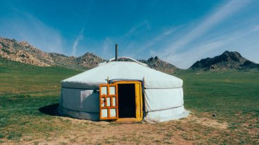 Tent in mongolie