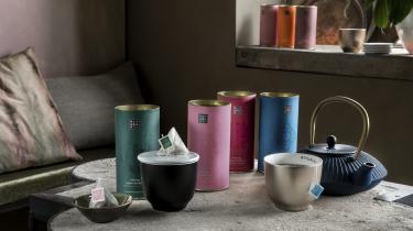 kopjes en pakjes thee van Rituals