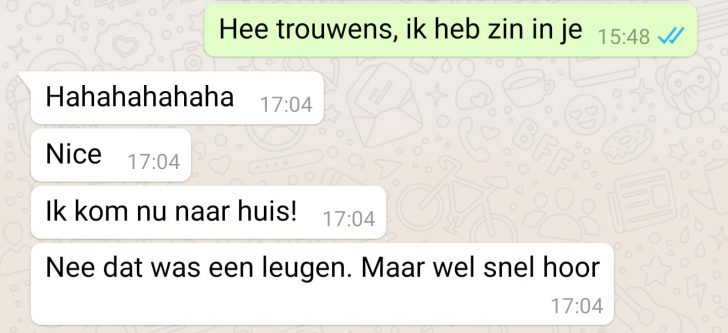 Whatsappgesprek