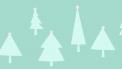 illustratie van kerstbomen