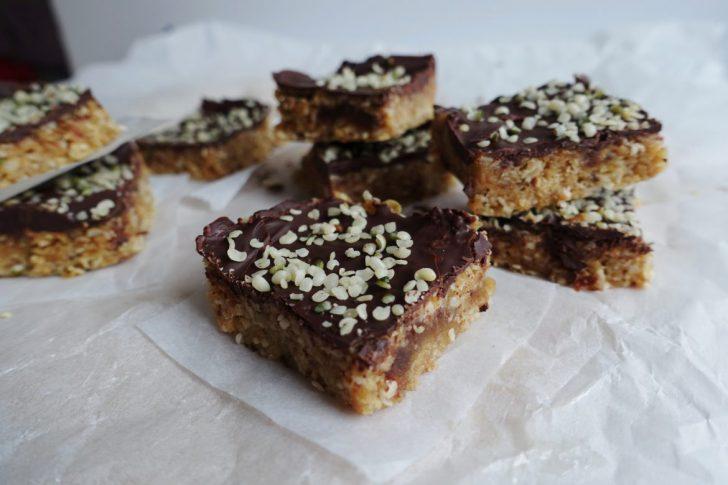 hennepzaad chocolade bar