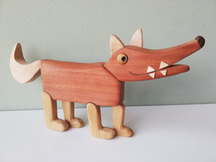 houten hondje speelgoed