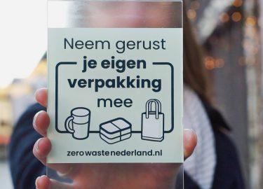 zero waste stickers