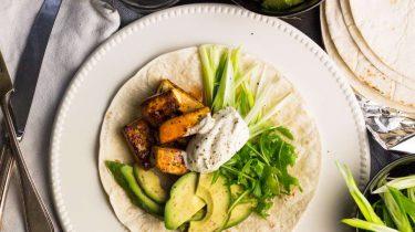 Afbeelding van vega fajitas met avocado recept 1