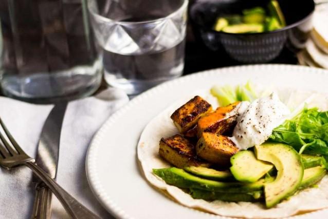 Afbeelding van vega fajitas met avocado recept 2
