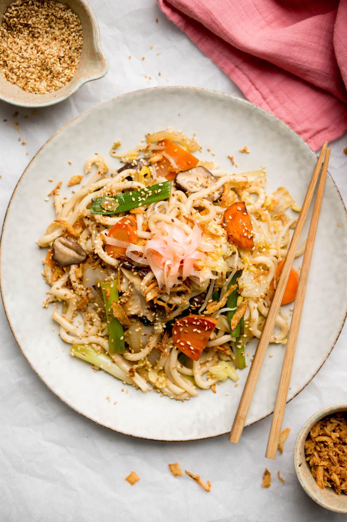 Afbeelding van Japanse udon noodles