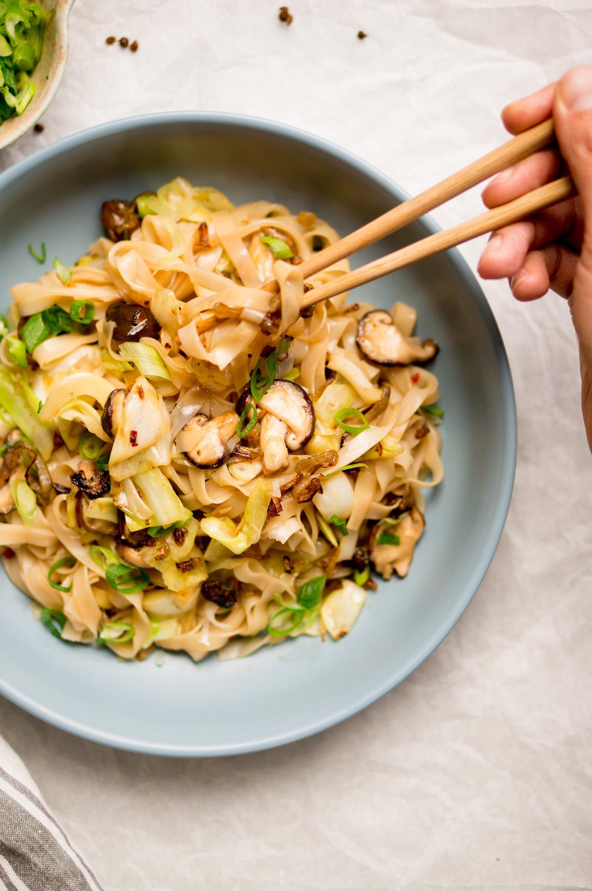 Afbeelding van vegan crack noodles recept 2