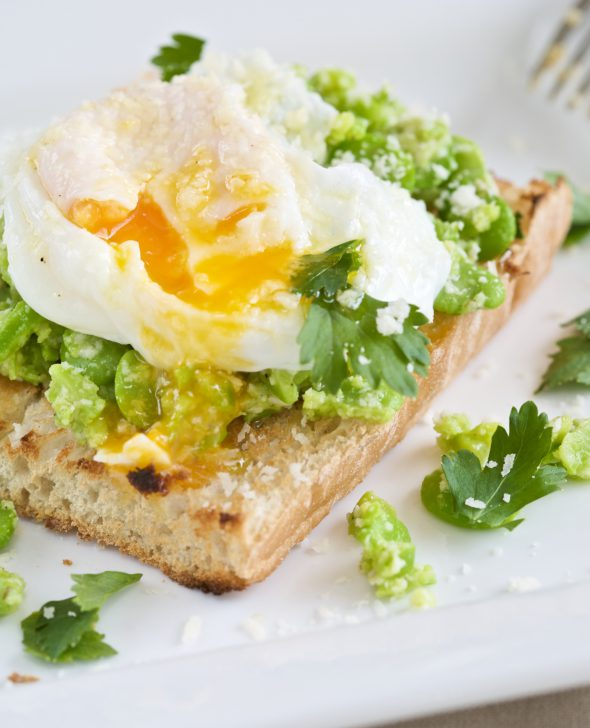 toast en eieren