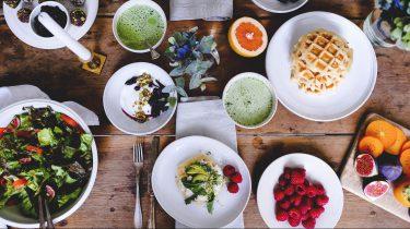 groene in bakjes
