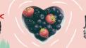 illustratie van een health challenge met gezond eten