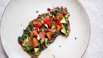 Afbeelding van gezonde crackers vegan keto-recepten