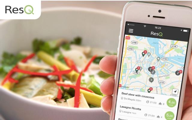 voedselverspilling app