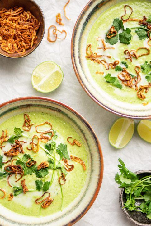 Thaise-broccolisoep