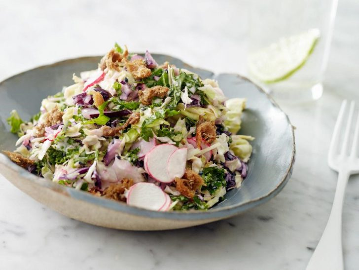Caesar salade met miso boerenkool - Gold&Green (2)