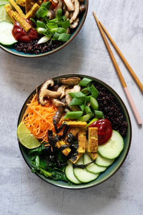 Plantaardige bibimbap bowl - #zokanhetook 2