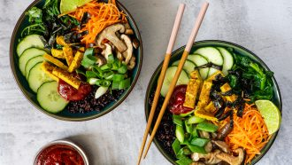 Plantaardige bibimbap bowl - #zokanhetook