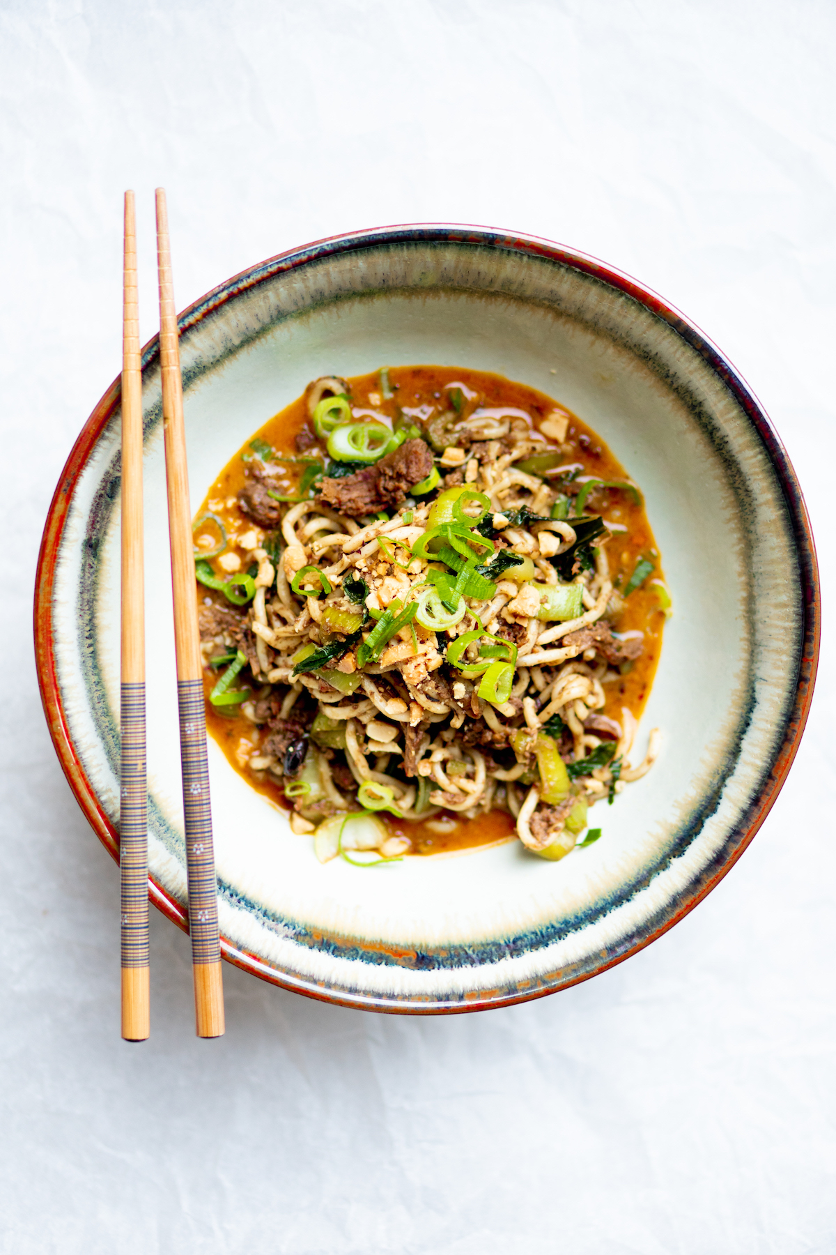 dan dan noodles pulled oats