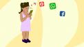 kinderen op social media
