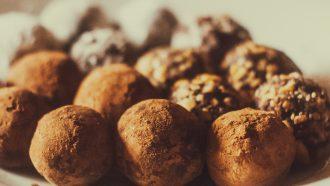 vegan chocolade truffels