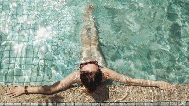 sporten voor een stralende huid