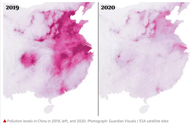 vervuiling china corona