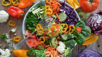 salade als duurzamere lunch