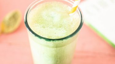 matcha iced latte recept