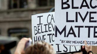 protest black lives matter